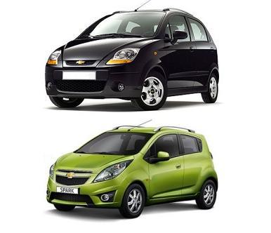 Capacitate ulei motor Chevrolet Spark