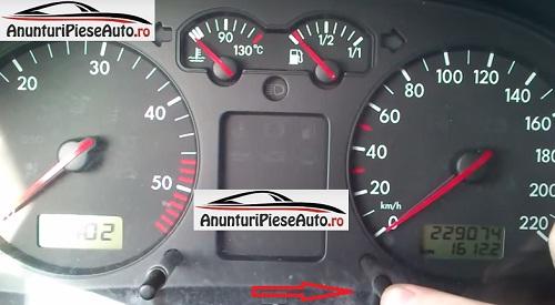 Cum se reseteaza calculatorul de bord la VW Bora