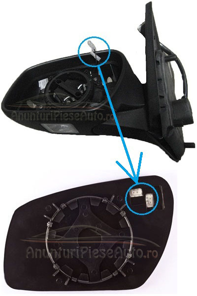 Schimb geam oglinda Ford Mondeo Facelift