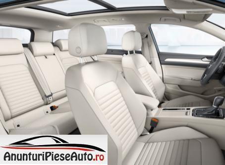 Poze interior cu noul VW Passat B8