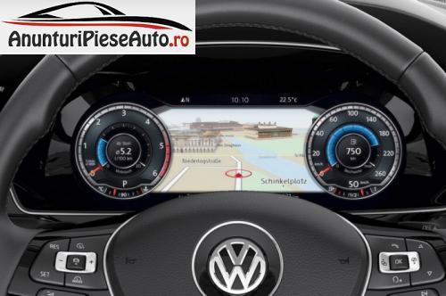 Poze interior cu tabloul de bord VW Passat B8