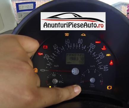 Reseteaza service-computerul de bord la VW Beetle