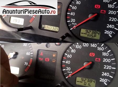 Reseteaza service INSP VW Golf 4