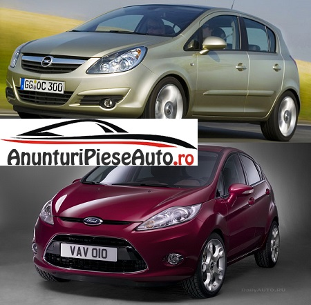 Ce sa alegi intre Opel Corsa D cu Ford Fiesta