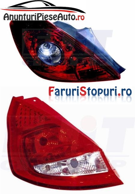 Compara pret stopuri Opel Corsa D si Ford Fiesta 6