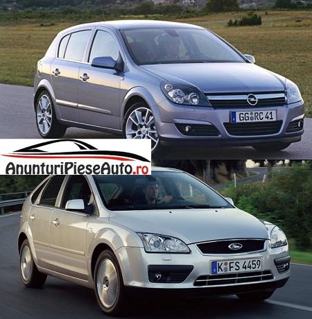 Compara Opel Astra H sau Ford Focus