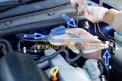 Unde se afla filtru de ulei VW Passat 1996-2005 benzina