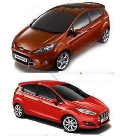 Cat ulei intra in motorul si baie Ford Fiesta 6 2008-2014