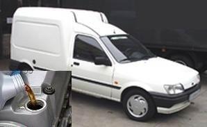 Cat ulei intra in motorul si baie Ford Fiesta Courier I 1991-1996