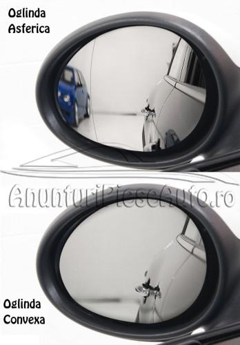 Diferenta oglinda asferica si convexa