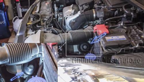 Inlocuieste filtru de ulei la Ford Fiesta VII