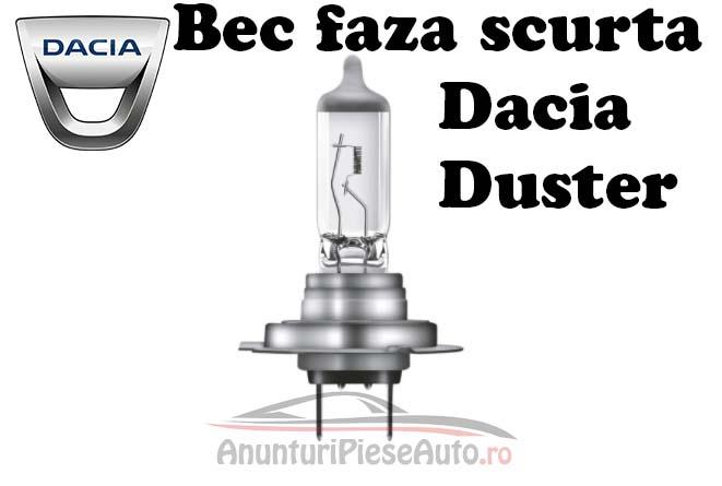 Model bec far Dacia Duster