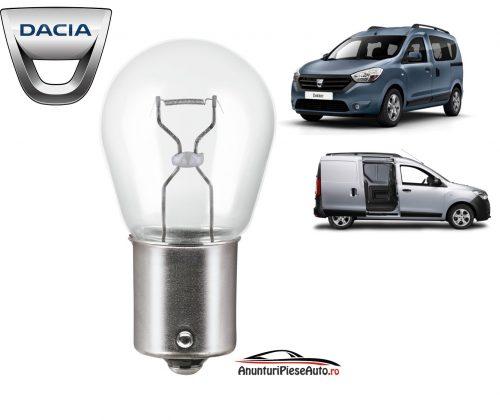 Model bec semnalizator Dacia Dokker