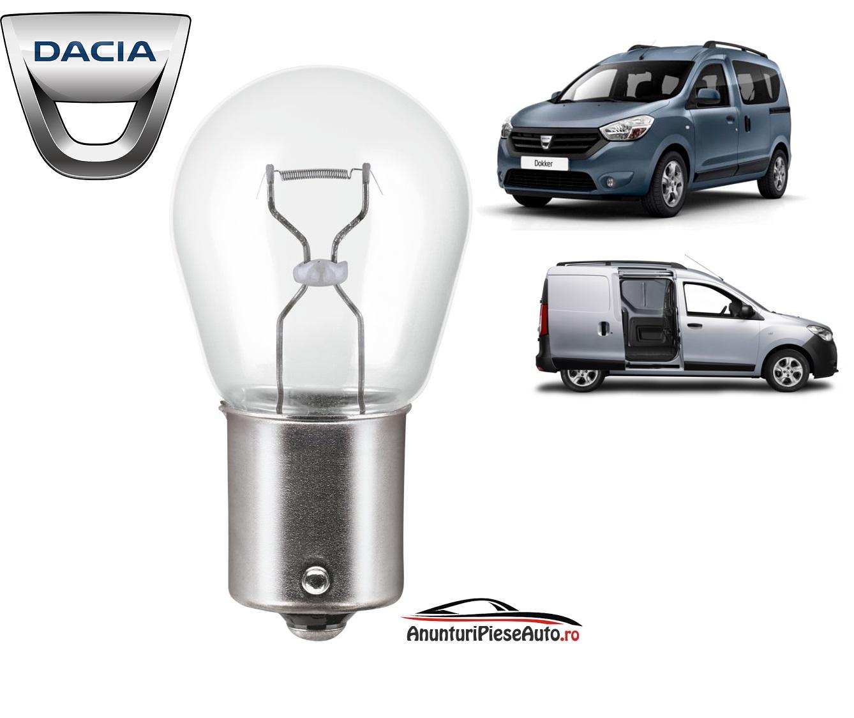 Model bec lampa frana suplimentara Dacia Dokker