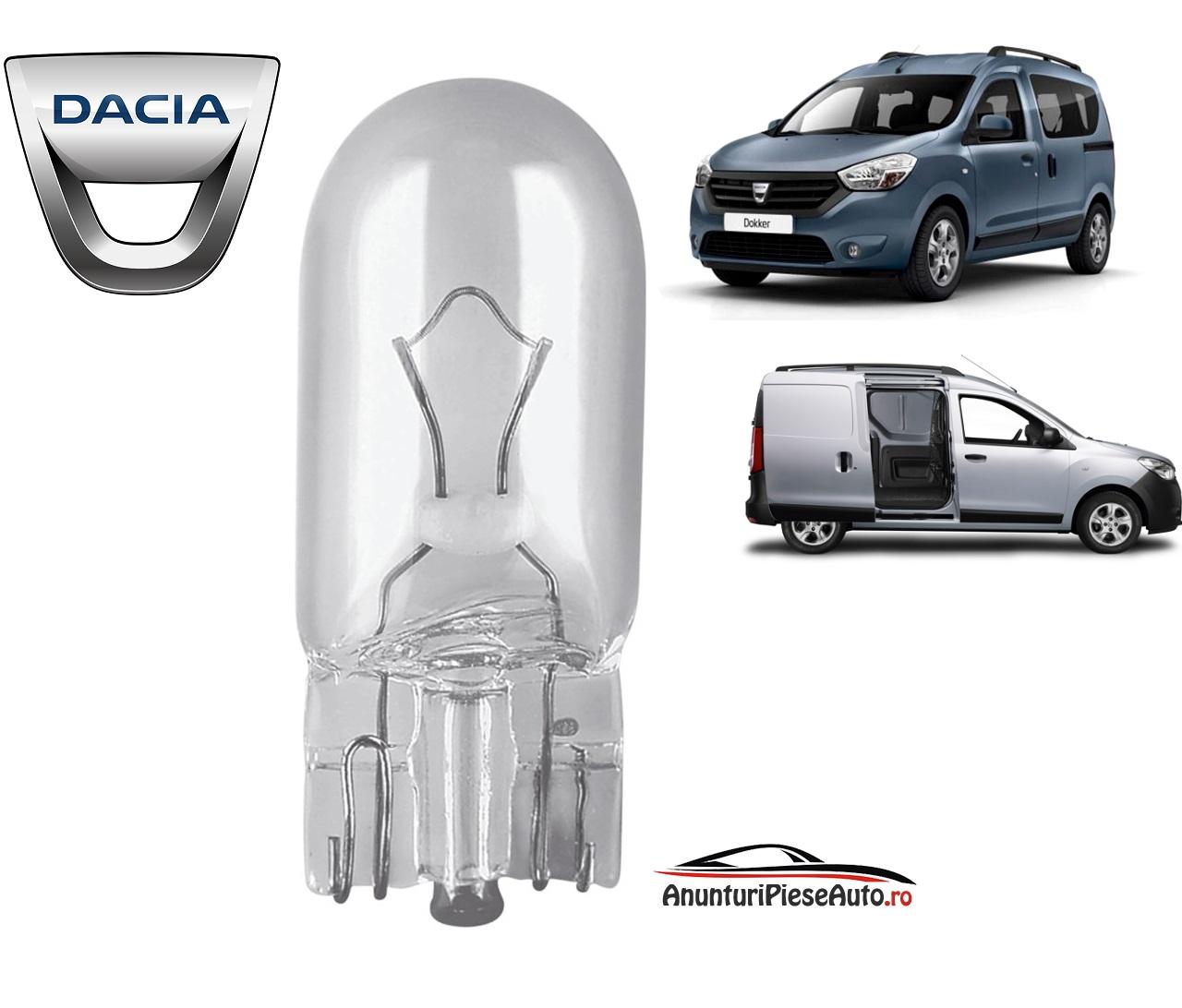 Model bec pozitie Dacia Dokker