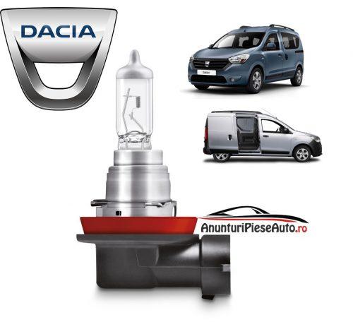 Model bec proiector ceata Dacia Dokker
