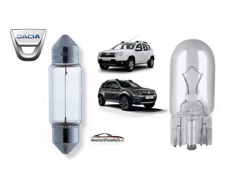 Model bec portbagaj Dacia Duster