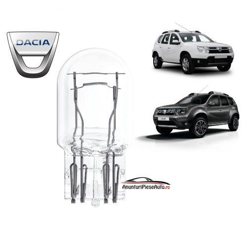 Model bec pozitie culumina de zi Dacia Duster