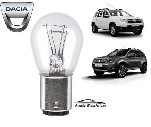 Model bec pozitie Dacia Duster