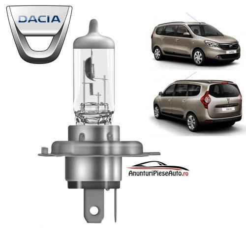 Model bec faza lunga far fata Dacia Lodgy