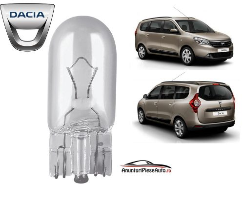 Model bec portbagaj Dacia Lodgy