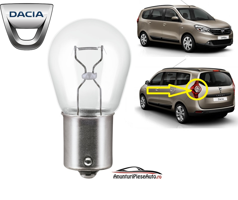Model bec stop cetra spate Dacia Lodgy