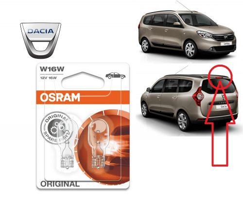 Model bec stop frana portbagaj hayon Dacia Lodgy