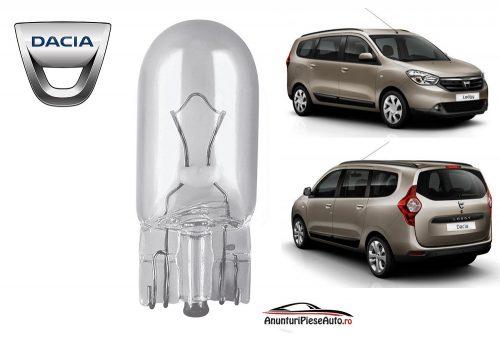 Model bec pozitie far Dacia Lodgy