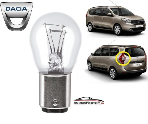 Model bec frana tripla spate Dacia Lodgy