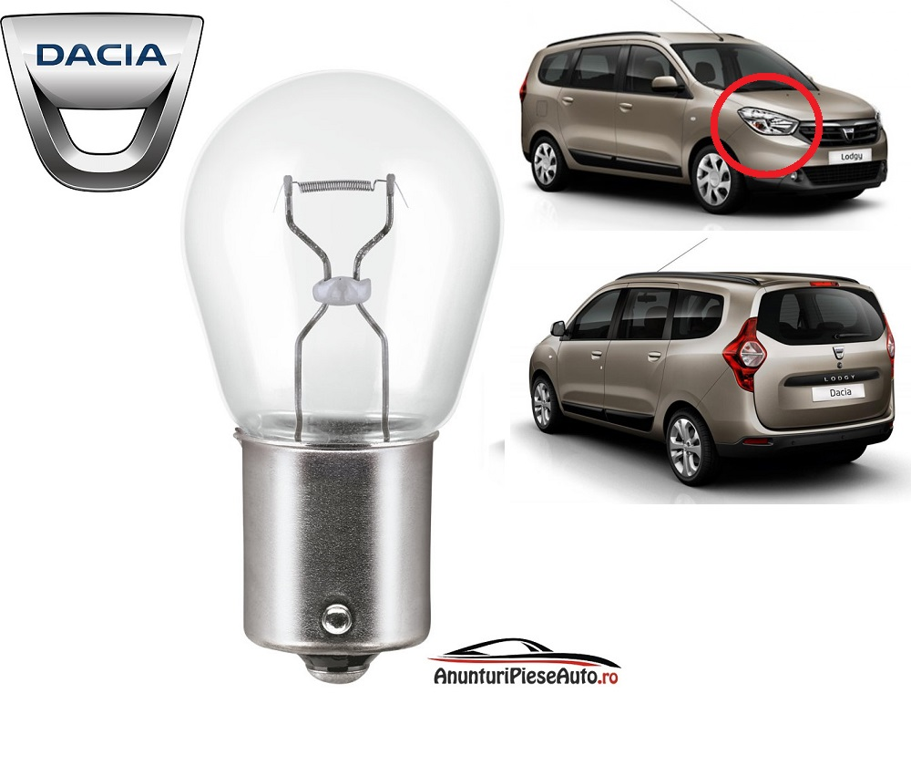 Model bec daytime running light Dacia Lodgy
