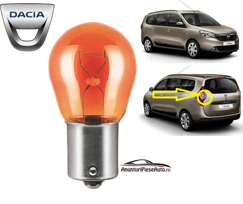 Model bec semnalizator Dacia Lodgy