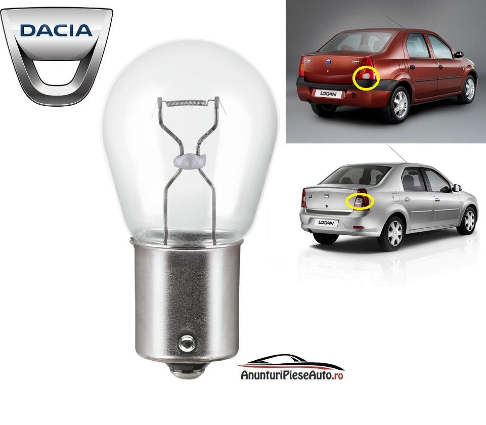 Model bec dat cu spatele Dacia Logan 2004-2012