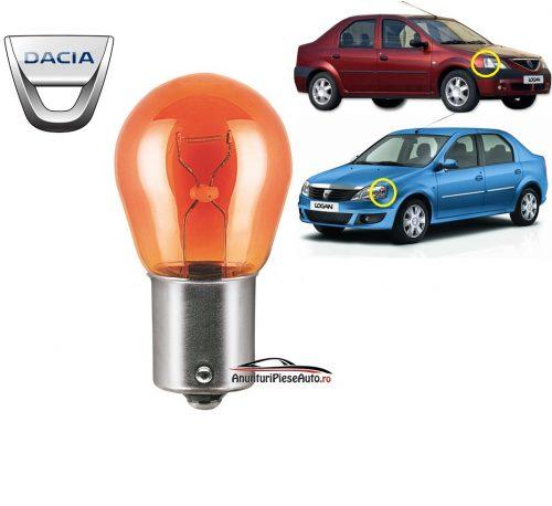 Model bec semnal Dacia Logan
