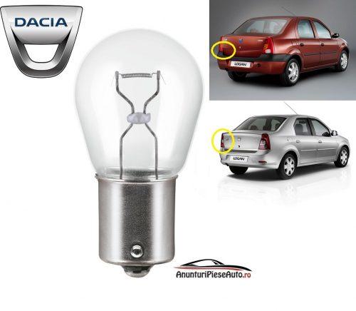 Model bec ceata spate Dacia Logan 2004-2012