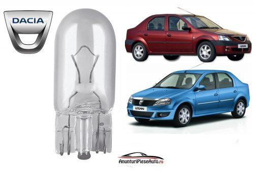 Model bec pozitie din far Dacia Logan 1 I