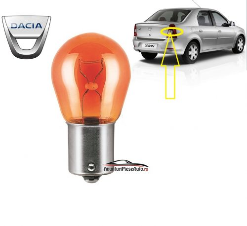 Model bec semnalizare stop Dacia Logan