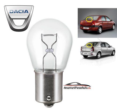 Model bec stop geam luneta Dacia Logan