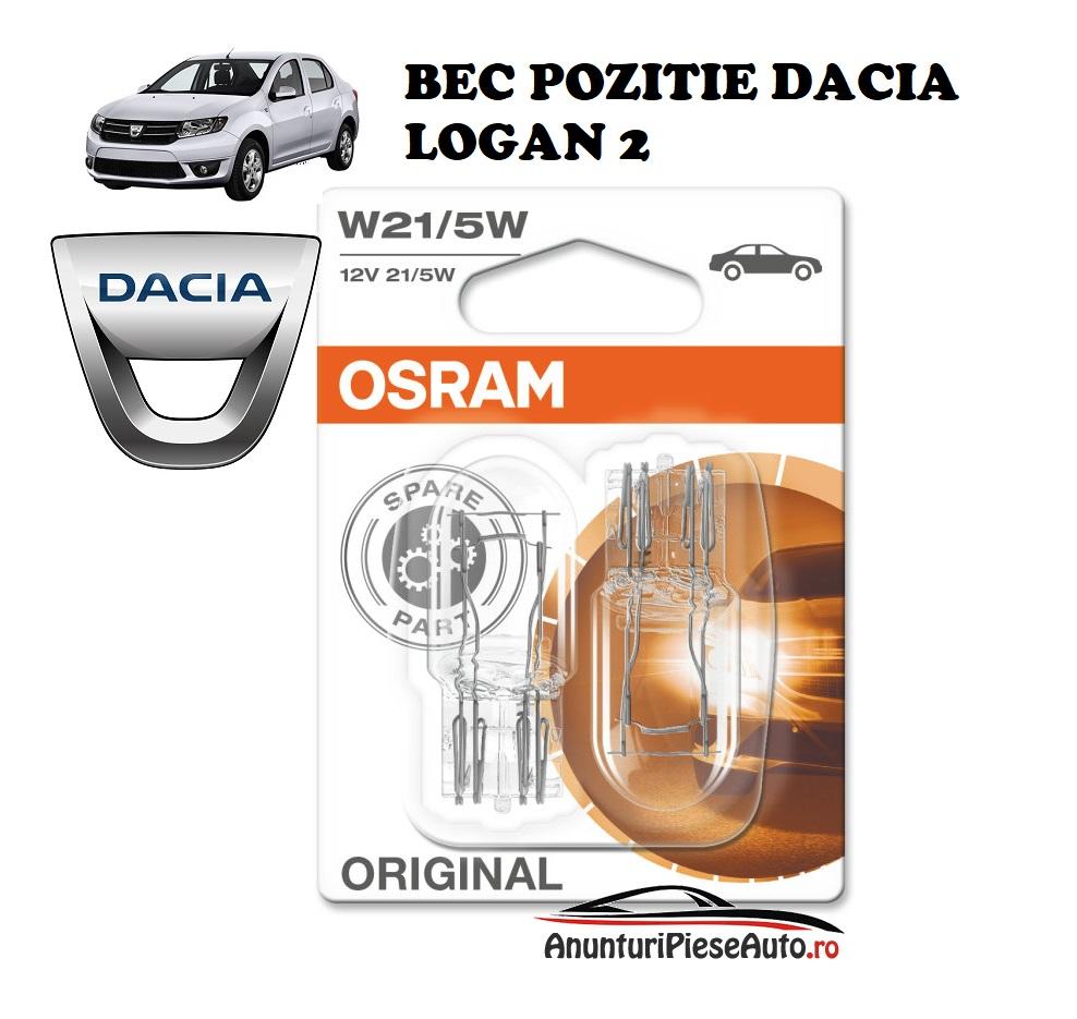 Model bec pozitie far Dacia Logan 2