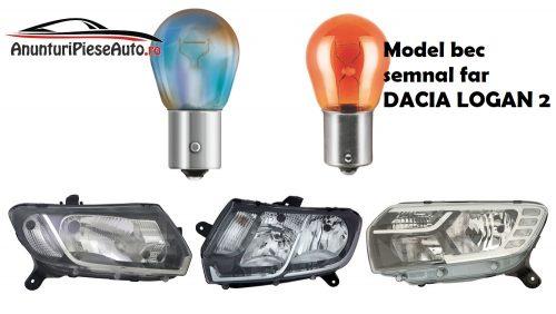 Tipuri de bececuri Dacia Logan 2